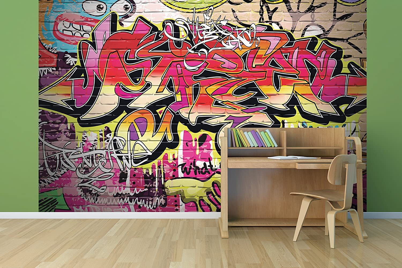 OhPopsi WALS0003 City Graffiti Wall Mural