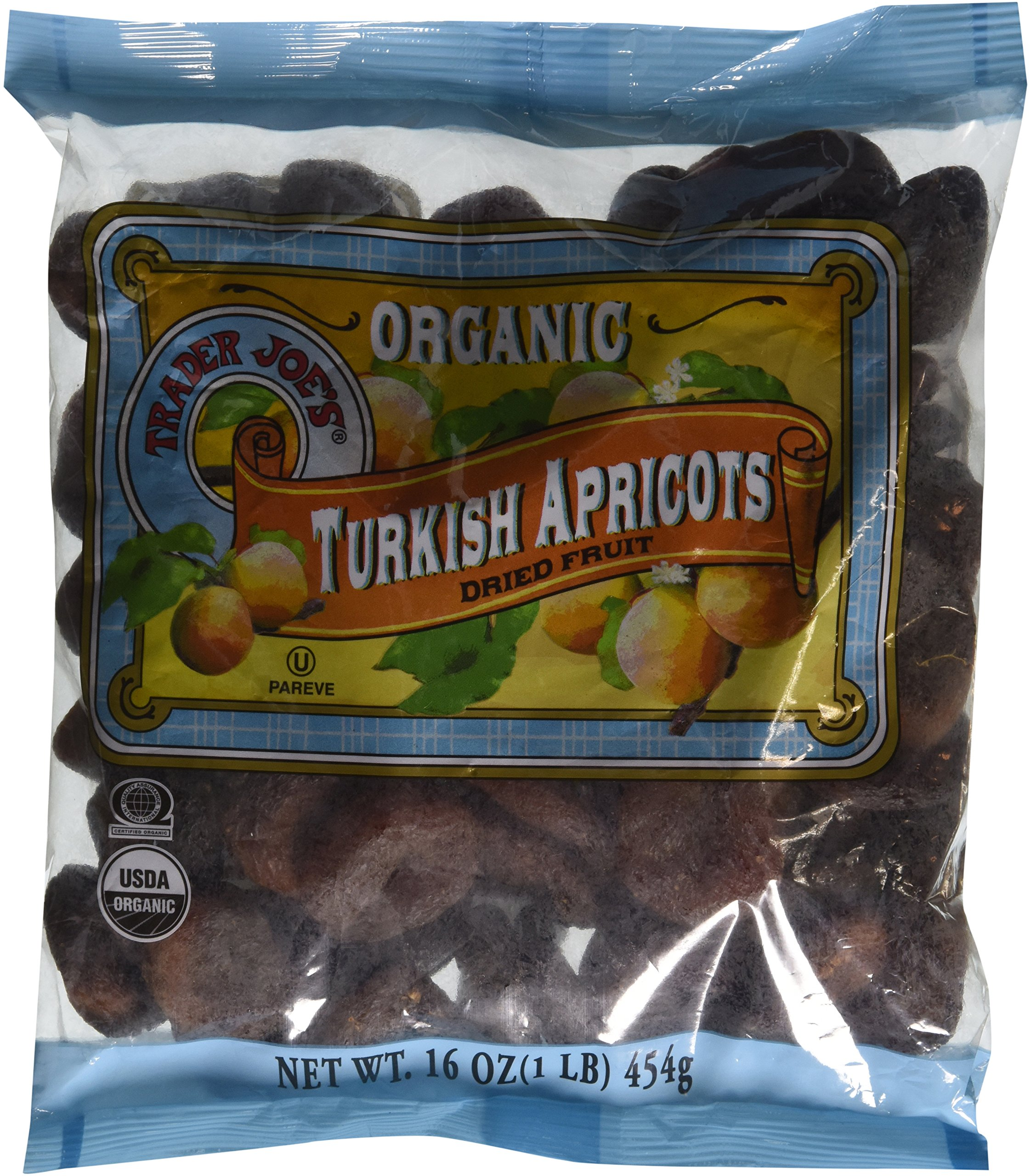 Trader Joe's Organic Turkish Apricots