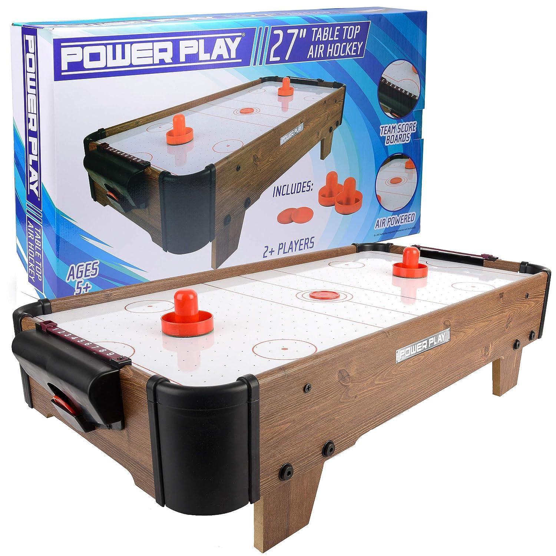 Juego de mesa air hockey