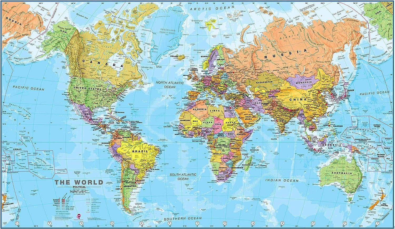 Maps International - Carte du monde politique