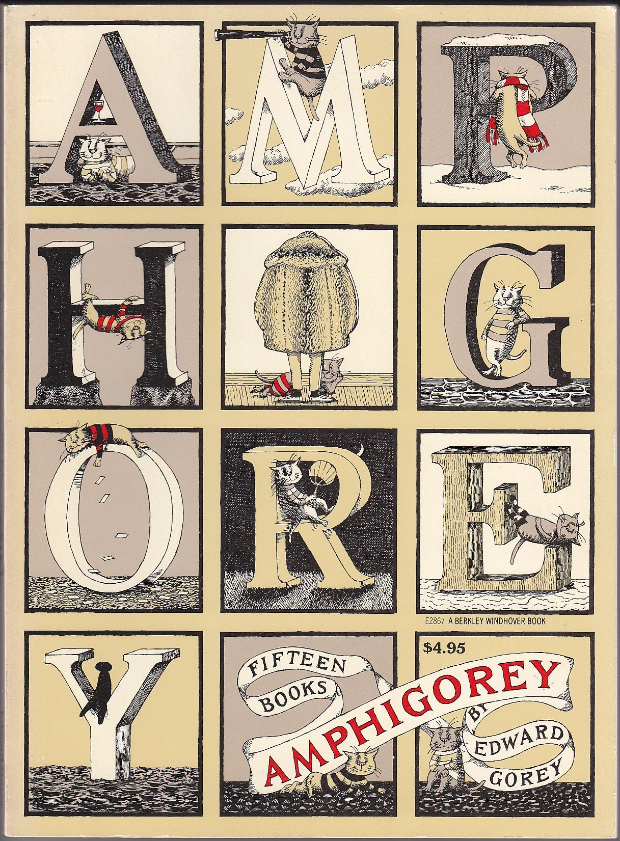 12 Correspondence Notes by Edward Gorey for New York City ...