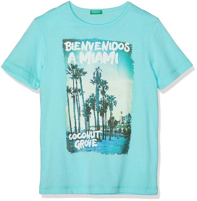 769c40bdf60 United Colors of Benetton Niños T-Shirt Camiseta Not Applicable