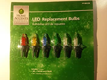 Amazoncom Home Accents Holiday Led Replacement Bulbs Health