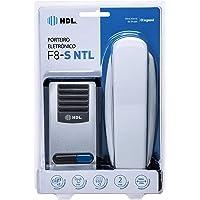 HDL F8, Porteiro Eletrônico F8-Sntl com Interfone, Branco
