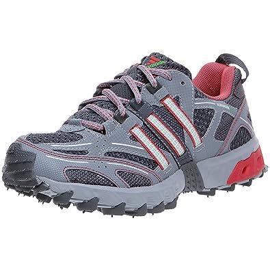 quality design e2247 955bf adidas Kanadia TR 3 W, Chaussures Trail femme, Gris Rose Argent,