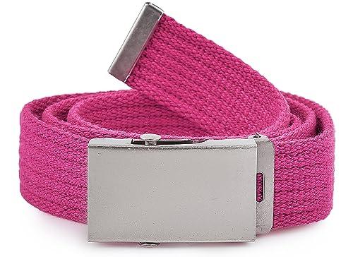 Merry Style Cinturón de tela para mujer 105 cm x 3 cm P20