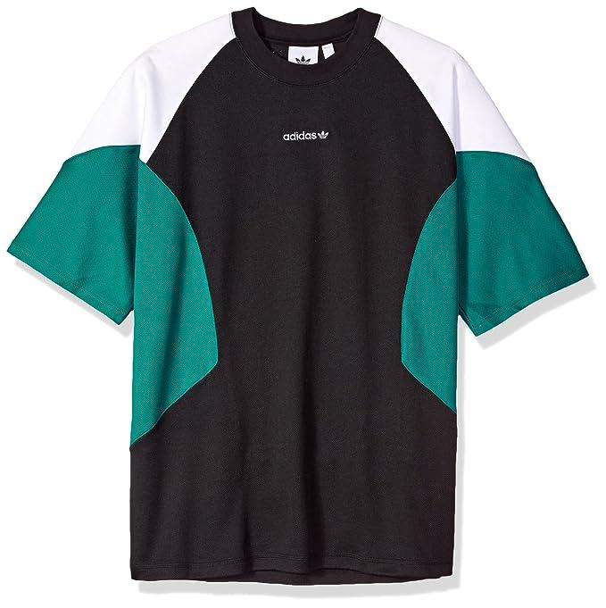 7155b5da56889 adidas Originals Men's EQT Curved Color Block T-Shirt