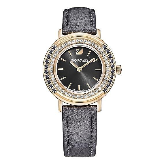 Swarovski Reloj de mujer cuarzo 34mm correa de cuero caja de 5243047: Amazon.es: Relojes