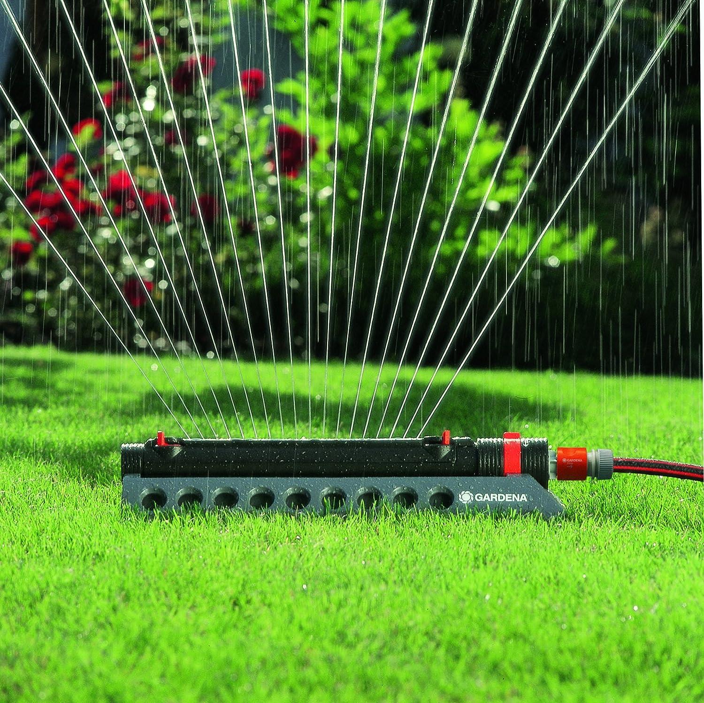 GARDENA 1975 Aquazoom 3900-Square Foot Oscillating Sprinkler with Fully Adjustable Width Control : Lawn And Garden Sprinklers : Garden & Outdoor