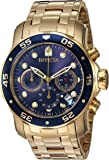 Invicta Herren-Armbanduhr XL Chronograph Quarz Edelstahl