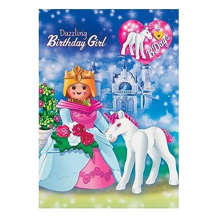 Hallmark Tarjeta de cumpleaños para niños chica del ...