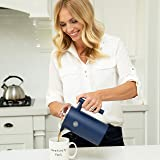 FikaPress French Press Coffee Maker 34 oz - Swedish Style - Double Wall Stainless Steel Insulated Coffee Press with Filtration - 4 Small Single Cup Servings - Large 1000ml Measuring Marks
