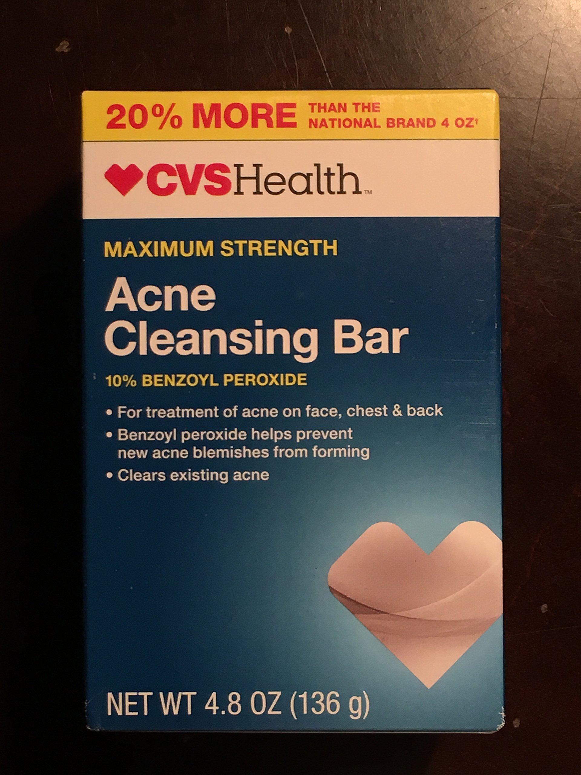 CVS Acne Cleansing Bar Maximum Strength, 4.8 OZ