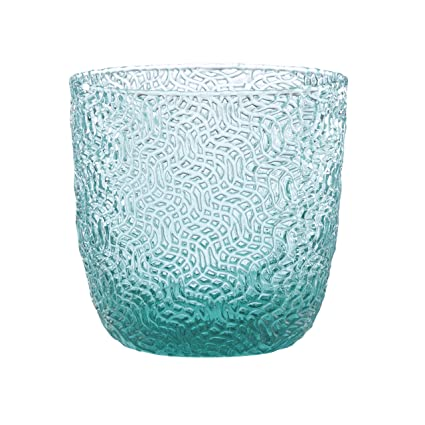 Turquoise Drinking Glass