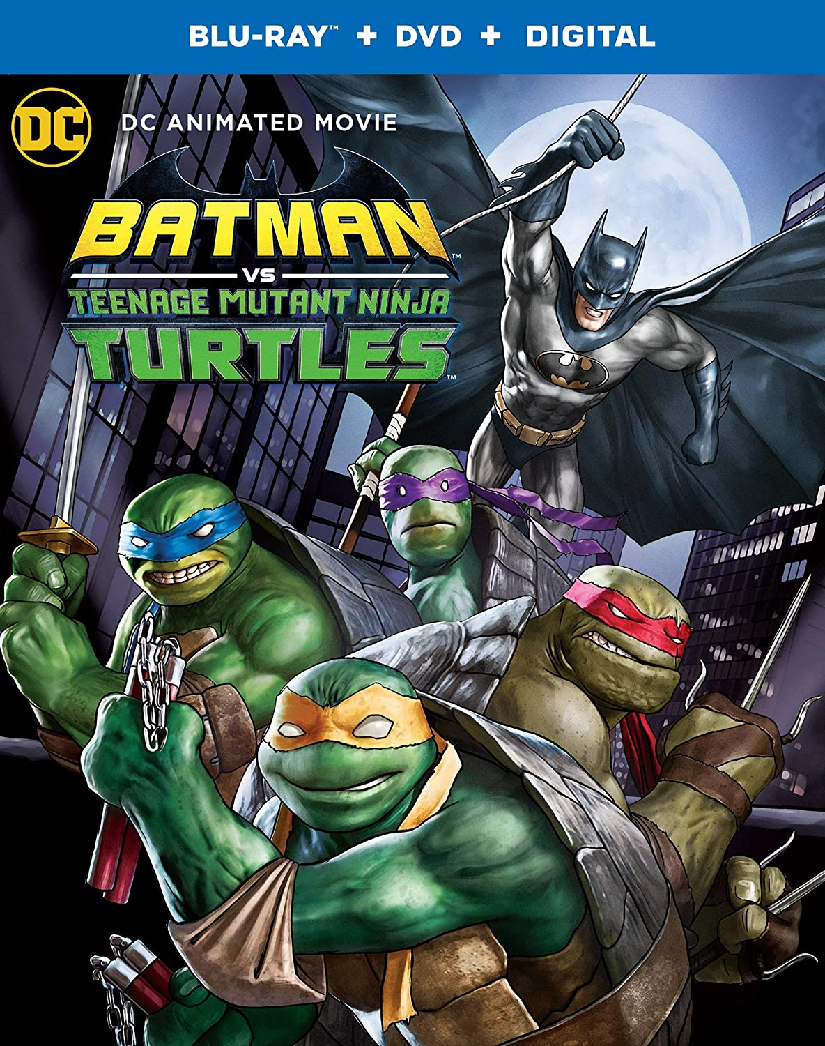 Amazon.com: Batman vs. Teenage Mutant Ninja Turtles (Blu-ray ...
