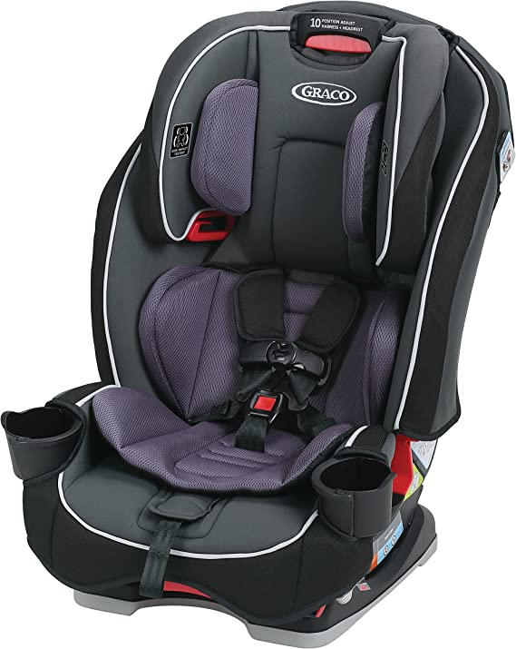 Graco SlimFit 3 in 1 Convertible Car Seat | Infant to Toddler Car Seat