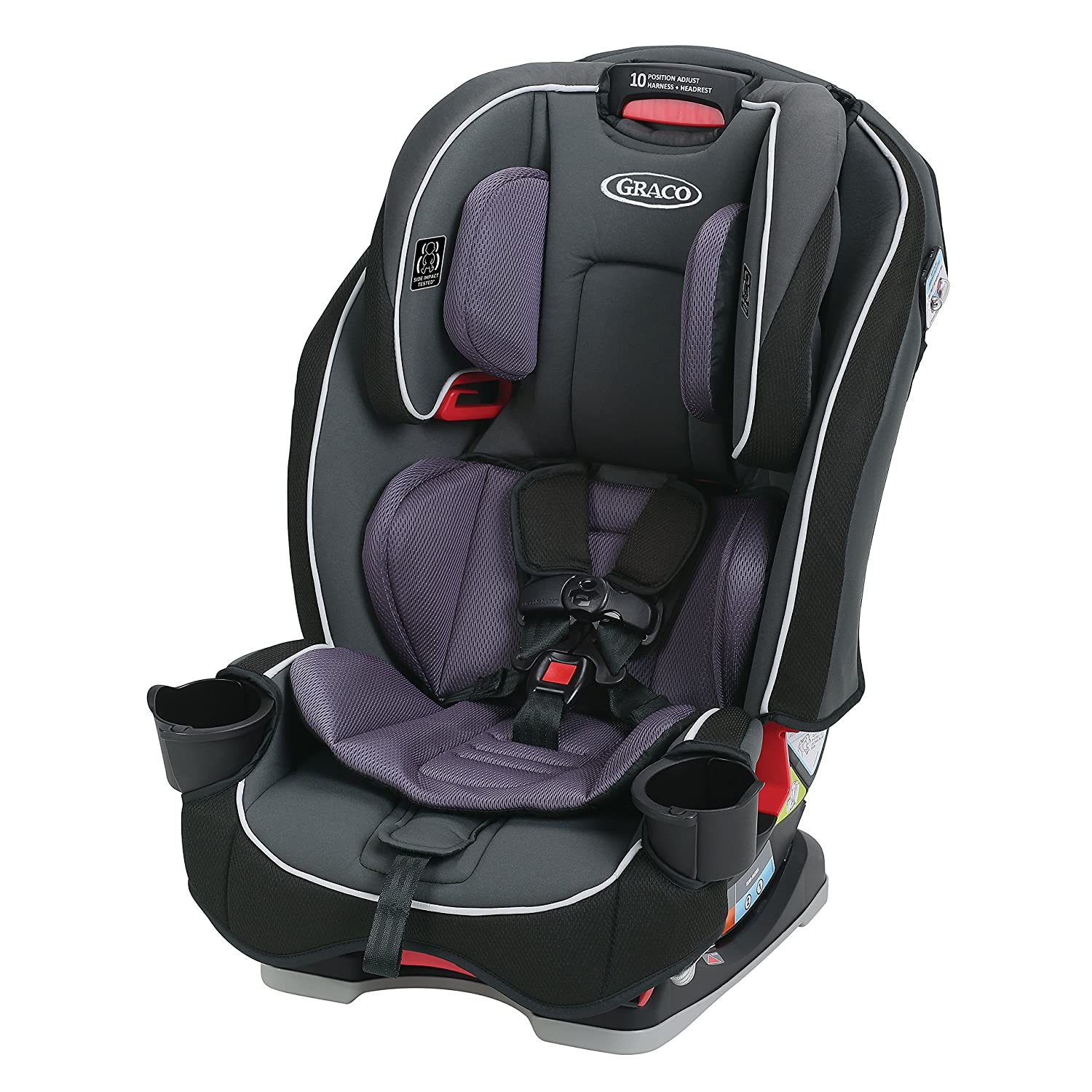 Graco SlimFit 3 in 1 Convertible Car Seat | Infant to Toddler Car Seat, Saves Space in your Back Seat, Annabelle