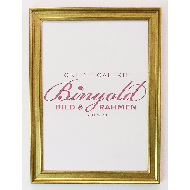 Online Galerie Bingold Bilderrahmen Hamburg 3,4 - Gold - LR - 50 x ...