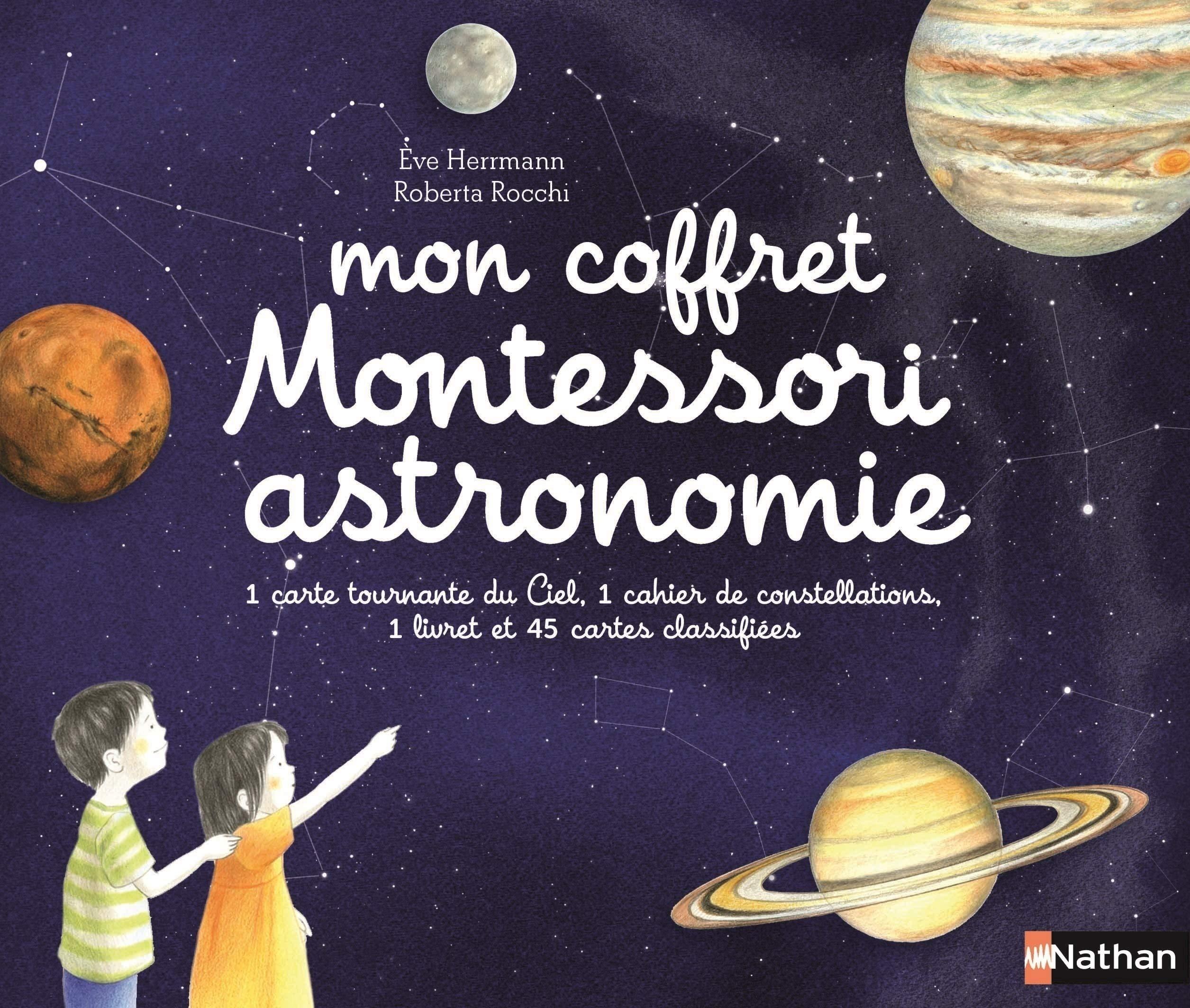 Mon coffret Montessori pour l'astronomie