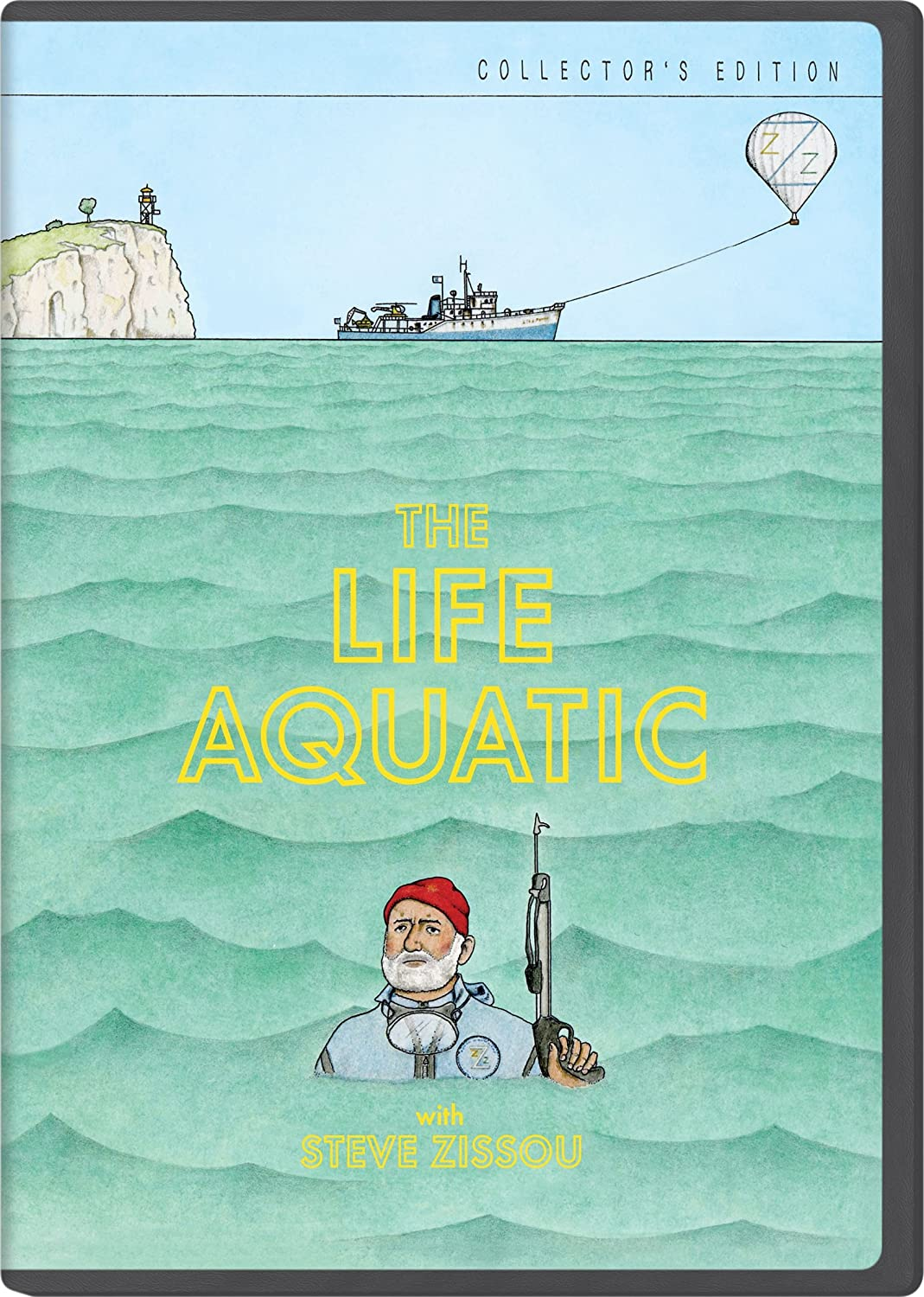d67445d473ab49 Amazon.com  The Life Aquatic with Steve Zissou (The Criterion Collection)  Bill  Murray