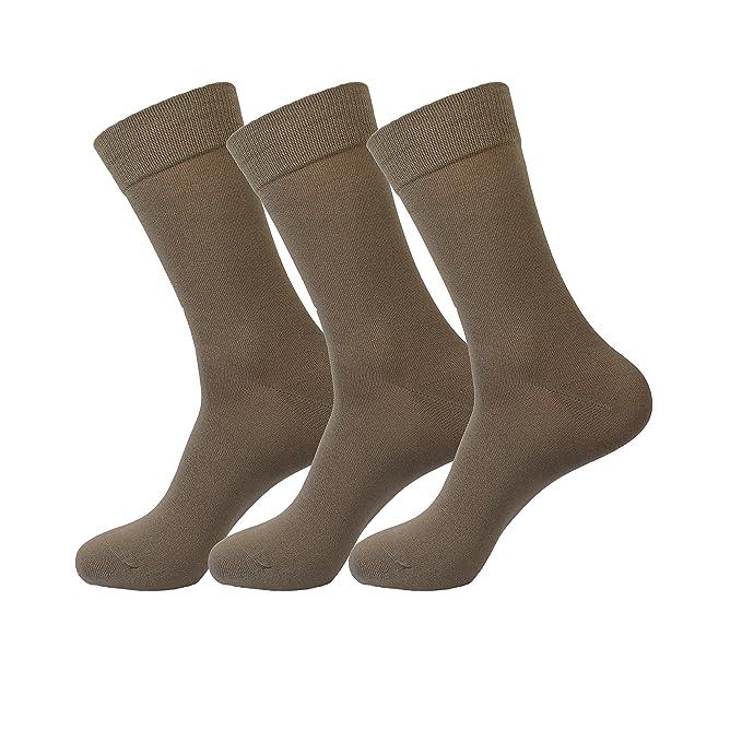 Jasmine Silk 3 pares supersuave para hombre 100% de bambœ calcetines tŽrmicos calcetn