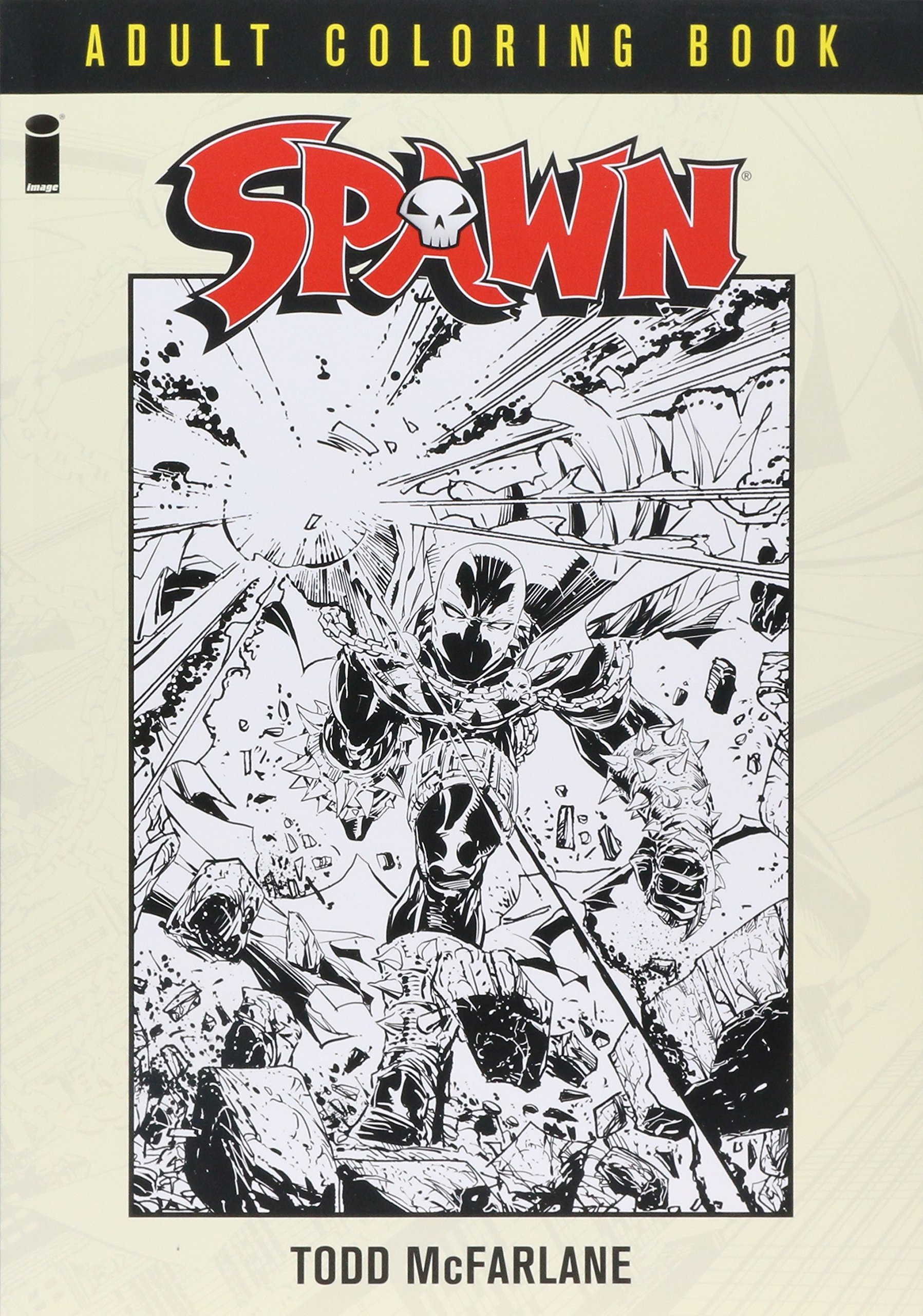 Spawn Coloring Book Todd McFarlane 9781632157850 Amazon Books