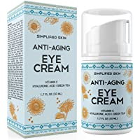 Anti-Aging Eye Cream for Dark Circles, Wrinkles, Bags & Puffiness. Best Under &...