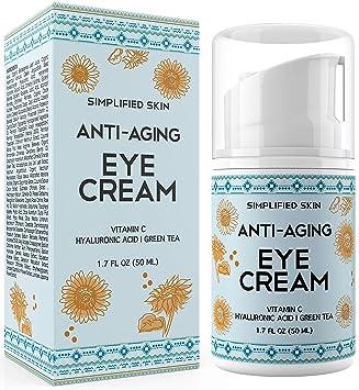 Amazon Com Anti Aging Eye Cream For Dark Circles Wrinkles Bags