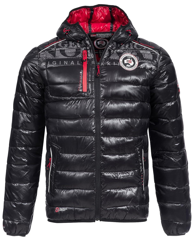 Winterjacke | Wintermantel | Stepp-Jacke Bappa für Herren von Geographical Norway - sportliche Jacke im Bomber Stil auch für den Übergang Herbst / Winter