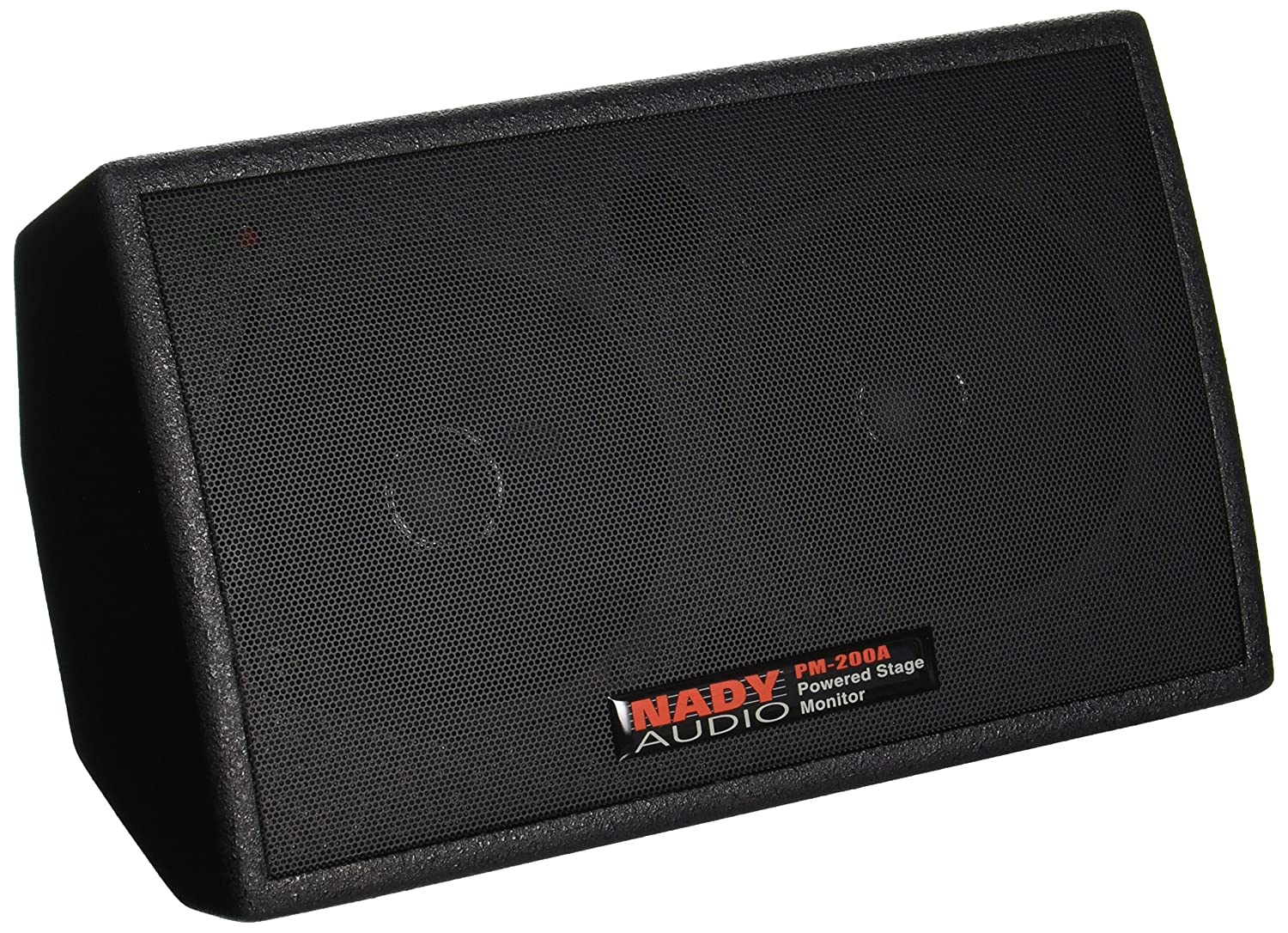 """Nady PM-200A Powered Personal Stage Monitor – 150W RMS – XLR and ¼"""" inputs, line/speaker / headphones outputs"""
