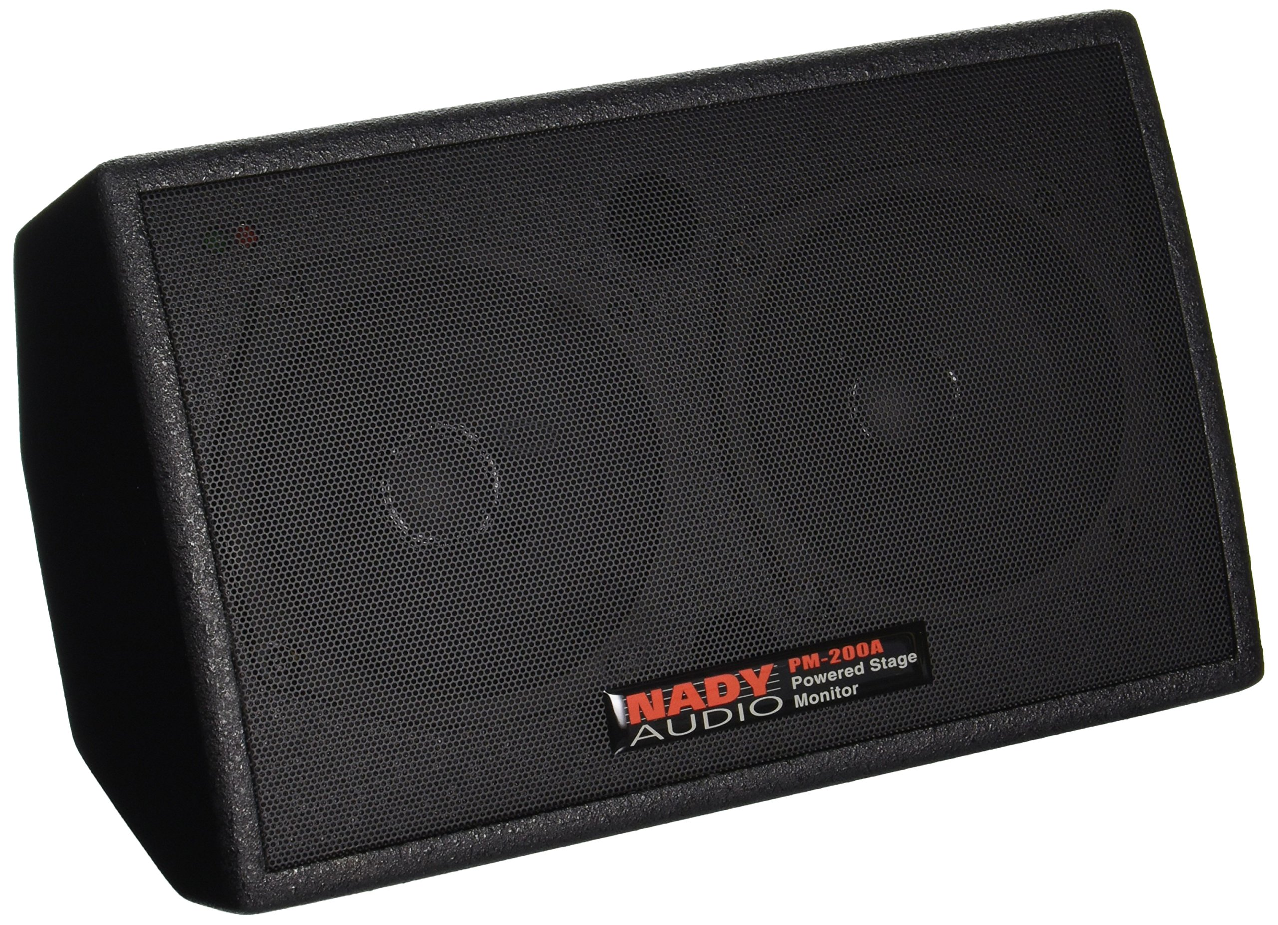 "Nady PM-200A Powered Personal Stage Monitor – 150W RMS – XLR and ¼"" inputs, line / speaker / headphones outputs"