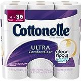 Cottonelle Ultra ComfortCare Bath Tissue, Double Roll Toilet Paper, 18 Pack