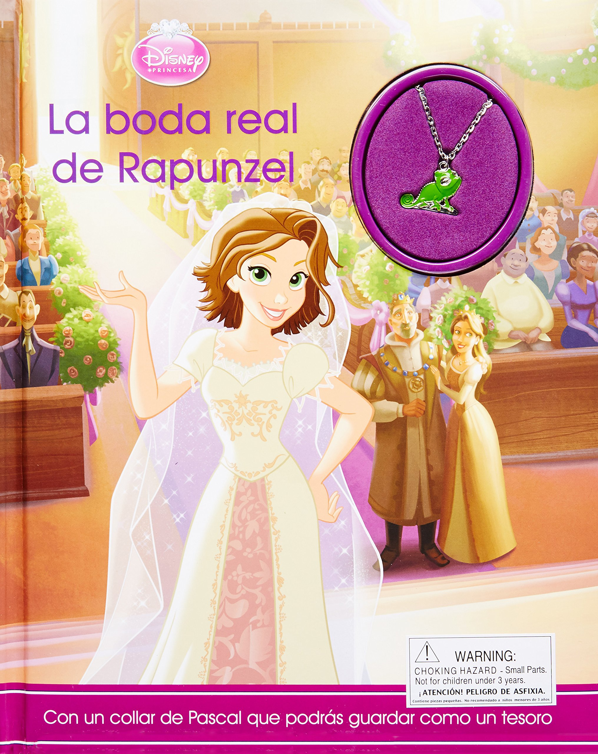 Disney La boda real de Rapunzel (Disney Charm) (Spanish Edition): Parragon Books: 9781472361554: Amazon.com: Books