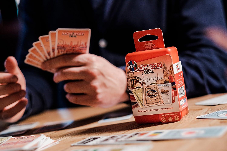Shuffle 100232004 - Juego Monopoly Deal Cities London: Amazon.es: Juguetes y juegos