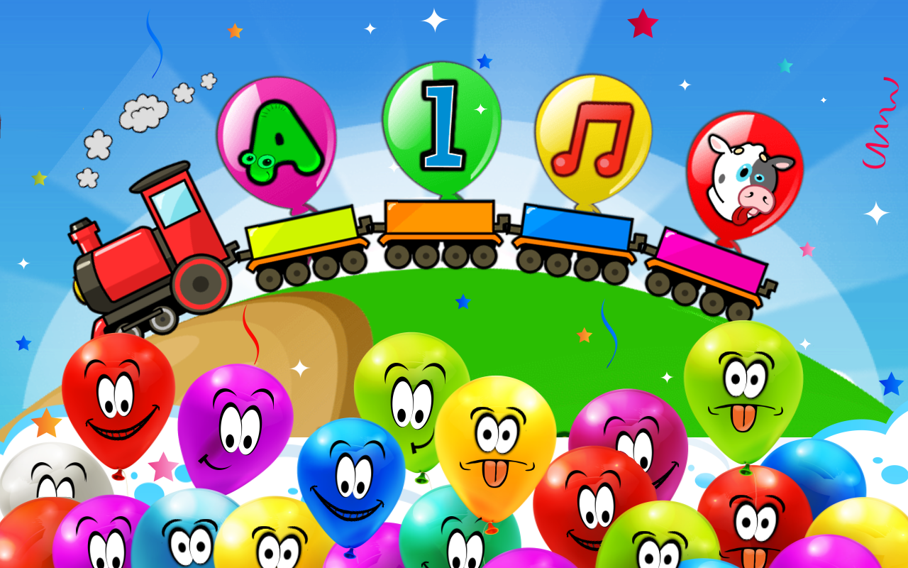 amazon com balloon pop kids learning game appstore for android