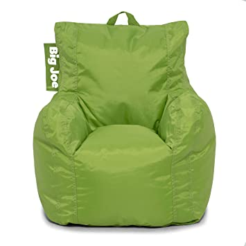 Amazon.com: Sillón tipo puf Big Joe, Tela: Kitchen ...