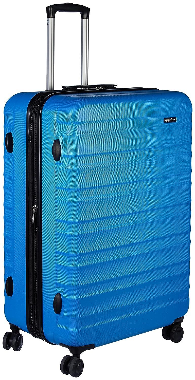 AmazonBasics Hardside Spinner Luggage - 28-inch, Black N989
