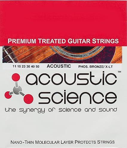 Acústica ciencia Premium tratada fósforo bronce Guitarra acústica ...