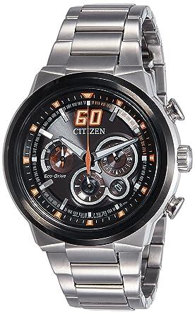 4bdcdf177 Buy Citizen Sport Eco-Drive Chronograph Orange 45 mm Men's Watch ...
