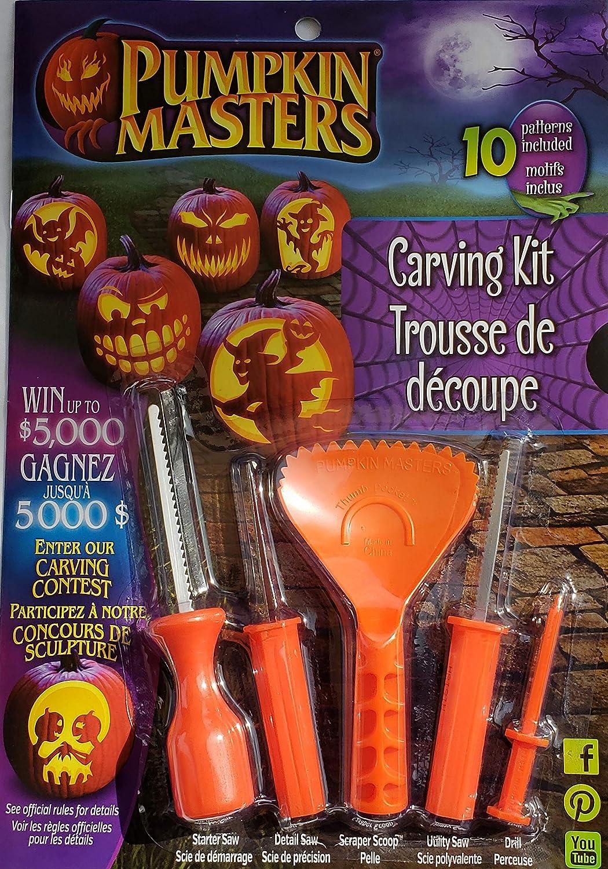 Pumpkin Masters Pumpkin Carving Kit Signature Brands PM14-065