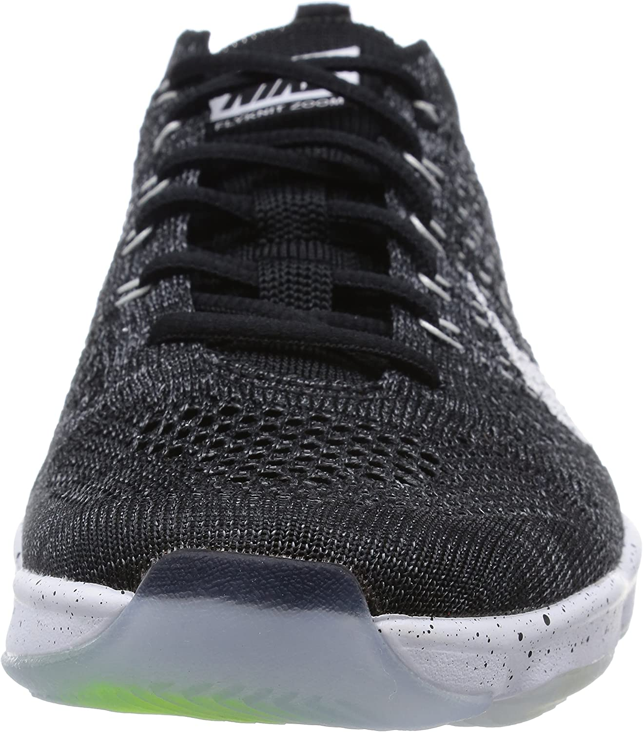 Nike Women s Flyknit Zoom Agility Ankle-High Fabric Training Shoes