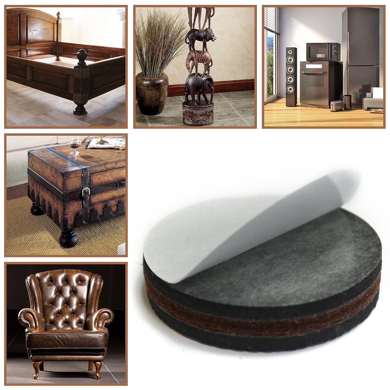 "NON SLIP Furniture Pads 16 PCS Premium 2"" Furniture Feet with"