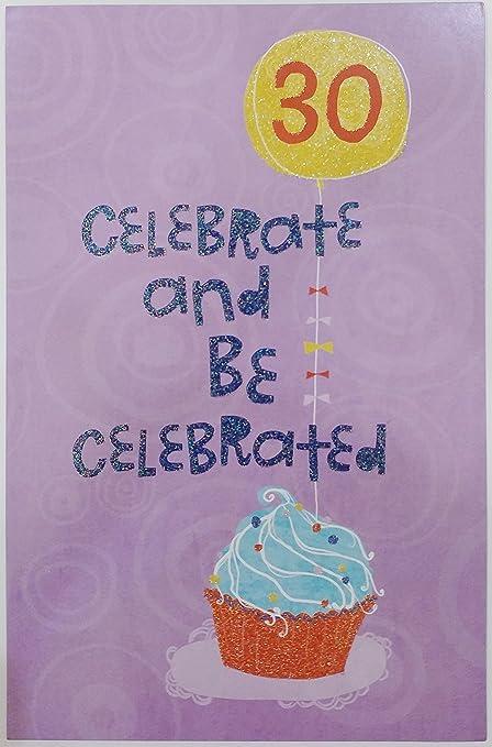Celebrar y se celebra 30 años de edad - Happy 30th Tarjeta ...