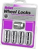 McGard 24210 Chrome Cone Seat Wheel Locks (M14 x 1.5 Thread Size) - Set of 4