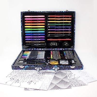 Art 101 60Piece Doodle + Draw Portable Art Set: Toys & Games