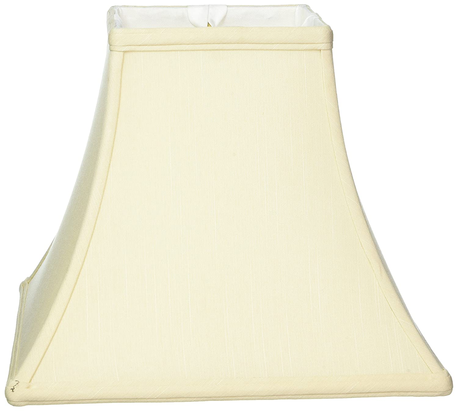 "Royal Designs Square Bell Basic Lamp Shade, Beige, 5 x 10 x 9 by ""Royal Designs, Inc"" B00HVGDDXW  ベージュ 5 x 10 x 9"