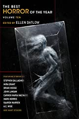 The Best Horror of the Year Volume Ten Paperback