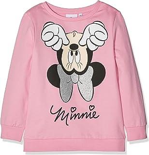 Disney Minnie Mouse Upside Down Minnie Mouse, Sudadera para Niñas