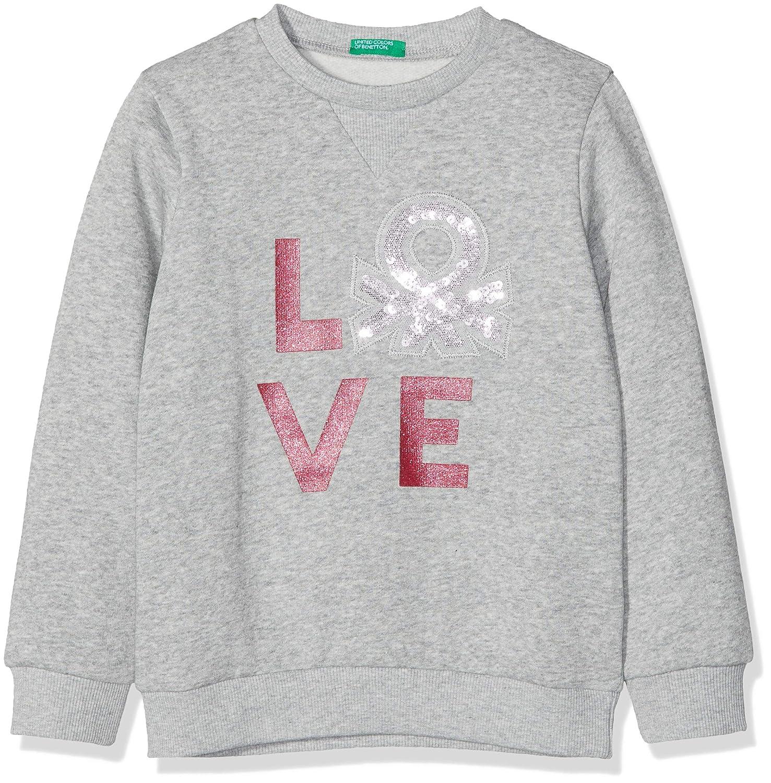 United Colors of Benetton Sweater L//S su/éter para Ni/ñas