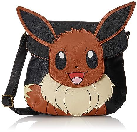 f44300a86fe2 Amazon.com  Loungefly Pokemon Eevee Crossbody Bag  Toys   Games